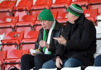 Stevenage Town v Yeovil Town, Stevenage, UK - 17 Feb 2018