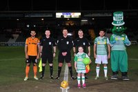 Yeovil Town v Barnet, Yeovil, UK - 13 Feb 2018