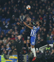 Brighton and Hove Albion v Crystal Palace, London - UK - 8 Jan 2017