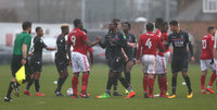 Charlton Athletic U23s v Crystal Palace U23s, London - UK - 24 Jan 2018