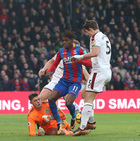 Crystal Palace v Burnley, London - UK - 13 Jan 2018