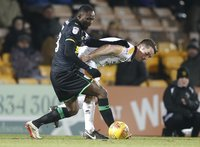 Port Vale  v Yeovil Town, Stoke, UK - 13  Jan 2018