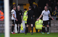 Torquay United v  Eastleigh, Torquay, UK - 13 Jan 2018