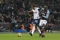 Tottenham Hotspur v West Ham United, London, UK - 4 Jan 2018