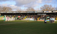 Yeovil Town v Crawley Town, Yeovil, UK - 1 Jan 2018