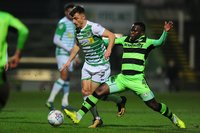 Yeovil Town v Forest Green Rovers, Yeovil, UK - 9 Jan 2018
