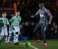 Yeovil Town v Manchester United, Yeovil, UK - 26 Jan 2018
