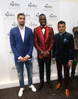 Christian Benteke Apsley Bespoke Tailors Launch, London - UK - 20 Mch 2018