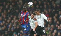 Crystal Palace v Liverpool, London - UK - 31st Mar 2018