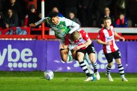 Exeter City v Yeovil Town, Exeter, UK - 13 Mar 2018