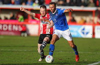 Exeter City v Carlisle United, Exeter, UK - 10 Mar 2018