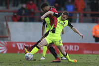 Morecambe v Exeter City, Morecambe, UK - 17 Mar 2018