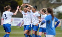 Portsmouth Ladies v Crystal Palace Ladies, Littlehampton, UK - 25 Mar 2018