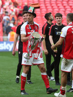 Rotherham United v Shrewsbury Town, London, UK - 27 May 2018