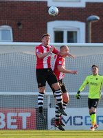 Exeter City v Lincoln City, Exeter, UK - 17 May 2018