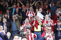 Lincoln City  v Exeter City, Lincoln, UK - 12  May 2018