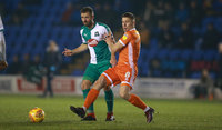 Shrewsbury Town v Plymouth Argyle, Shrewsbury, UK - 27 Nov 2018