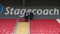 Stagecoach Adam Stansfield Stand Official opening, Exeter, UK - 25 Oct 2018
