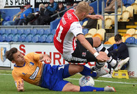 Mansfield Town v Exeter City, Mansfield, UK - 15 Sep 2018