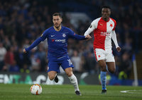 Chelsea v Slavia Prague, London - 18 April 2019