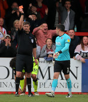 Cheltenham Town v Exeter City, Cheltenham, UK - 6 Apr 2019