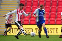Exeter City u18s v Wigan Athletic u18s, Exeter, UK - 30 Apr 2019