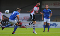 Exeter City v Macclesfield Town, Exeter, UK - 3 Aug 2019
