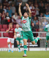 Northampton Town v Plymouth Argyle, Northampton, UK -31 August 2
