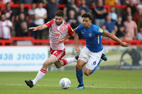 Stevenage v Macclesfield Town, Stevenage, UK - 31 Aug 2019