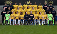 Torquay United Team Photo 2019, Torquay, UK - 22 Aug 2019