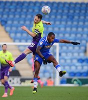 Colchester United v Exeter City, Colchester, UK - 29 Dec 2019