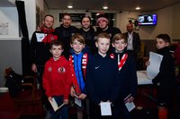 Exeter City Meet the Players - Exeter, UK - 5 Dec 2019