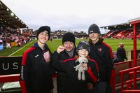 Exeter City v Morecambe, Exeter, UK - 12 Jan 2019