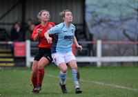 Callington Town Ladies v Exeter City Ladies, Callington, UK - 6 Jan 2018