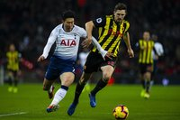 Tottenham Hotspur V Watford, London, UK - 30 Jan 2019.