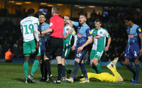 Wycombe Wanderers v Plymouth Argyle, High Wycombe, UK - 26 Jan 2