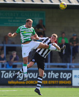 Dorchester Town v Yeovil Town, Dorchester, UK - 20 July 2019