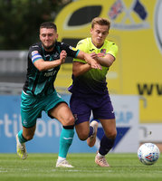 Exeter City v Swansea City, Exeter, UK - 20 Jul 2019