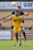 Tiverton Town v Torquay United Tiverton, UK -20 July 2019
