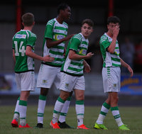 Yeovil Town v Hereford, Bideford, UK - 12 Jul 2019