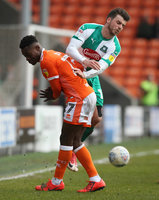 Blackpool v Plymouth Argyle, Blackpool, UK - 30 Mar 2019