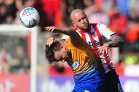 Exeter City v Mansfield Town, Exeter, UK - 30 Mar 2019