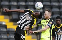 Notts County  v Exeter City, Nottingham, UK - 23 Mar 2019