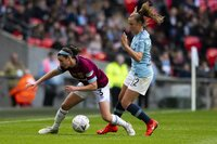 Manchester City Women v West Ham United Ladies, London, UK - 4 M