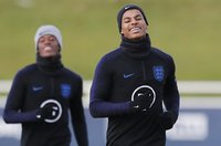 England Training Session, St Georges Park, UK - 13 Nov 2019