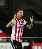 Exeter City v Cheltenham Town - Exeter, UK - 16 Nov 2019