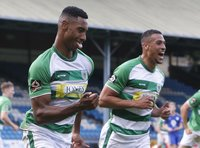 Halifax  v Yeovil Town , Halifax, UK - 7 Sept 2019