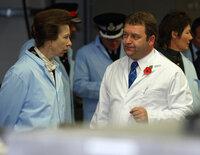 Princess Royal visit, Crediton, UK 11 Oct 2002