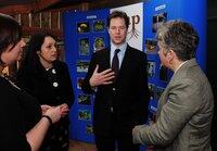 Nick Clegg Visit 110211