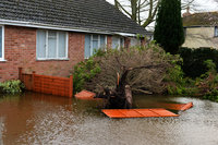 Moorland Floods Somerst 050214